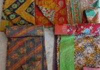 20 vintage kantha quilt free shipping plaids gudri reversible throw ralli bedspread bedding india wholesale Stylish Vintage Kantha Quilts Wholesale Gallery