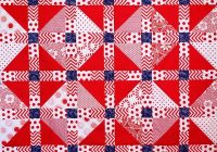 21 free red white and blue quilt patterns jacquelynne steves Cozy Red White And Blue Quilt Patterns Gallery