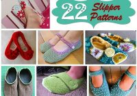 22 slipper patterns hidden treasure crafts and quilting Cool Quilted Slippers Pattern Inspirations