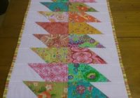 24 table runner patterns Modern Table Runner Quilt Pattern Gallery
