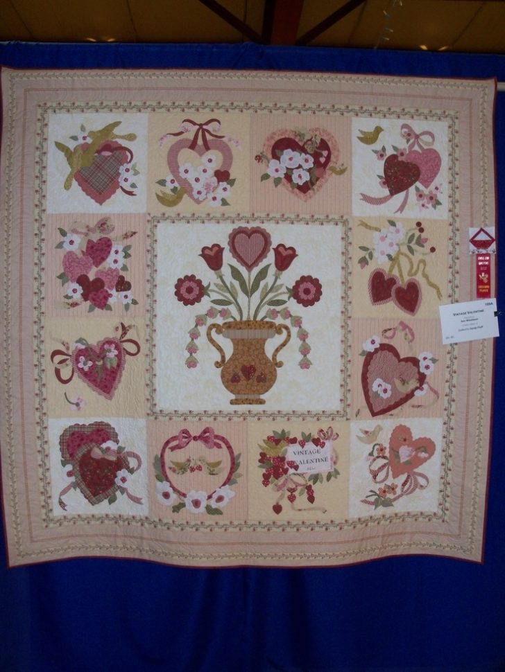 Permalink to Cool Vintage Valentine Quilt Kit Gallery