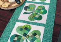 25 show stopping free table runner patterns sewcanshe Modern Table Runner Quilt Pattern Gallery