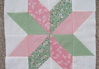 26 easy quilt blocks perfect for honing your quilting skills Cozy Easy Quilt Block Pattern Gallery