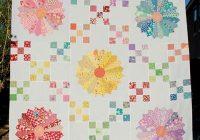 30s irish chain dresden plate quilt quilting land Unique Dresden Plate Quilt Patterns Inspirations