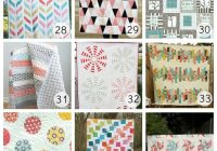 36 beautiful free quilt patterns u create Unique Different Quilt Patterns Gallery