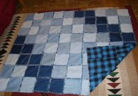 39 latest jeans quilt patterns the funky stitch 10 Interesting Denim Rag Quilt Patterns