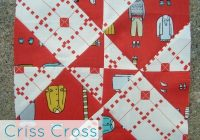 4 patch disappearing quilt block criss cross 10 Modern Disappearing 4 Patch Quilt Patterns Gallery