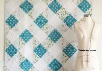 45 easy beginner quilt patterns and free tutorials polka Elegant Simple Quilt Block Patterns Gallery