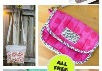 5 amazing cross body bag patterns to sew right now Modern Quilted Messenger Bag Pattern