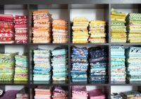 5 clever tips to organize your fabric stash the polka dot Modern The Fabric Stash Quilting Sewing Store