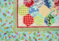 5 inch hexagon template printable and ba quilt pattern Hexagon Baby Quilt Pattern To Print Free Gallery