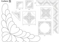 501 quilting design motifs 8 ways to mark a quilt Cool Quilting Design Patterns Gallery