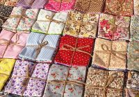 50x assorted pre cut charm quarters cotton fabric quilt sewing bundle square fat ebay 11 Modern Pre Cut Fabric For Quilting Gallery