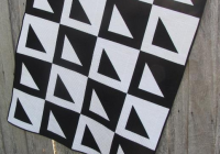 6 beautiful black and white quilt patterns Elegant Black And White Quilt Pattern Gallery