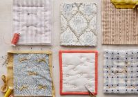 6 techniques for hand quilting sew a needle pulling Hand Sewn Quilt Patterns