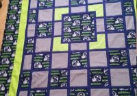 7 best quilt images on pinterest quilting ideas football Stylish New Quilting Fabric Seattle Gallery
