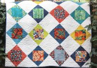7 free one block quilt patterns Cozy Block Quilt Patterns For Beginners Gallery