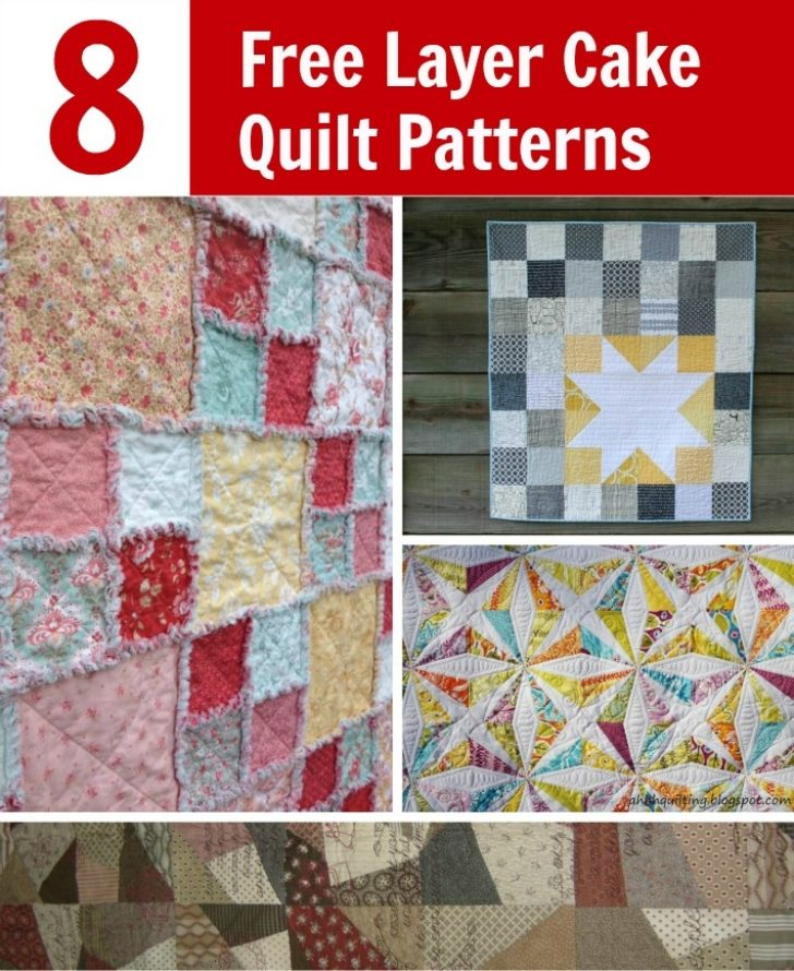 Permalink to Stylish Layer Cake Quilts Patterns