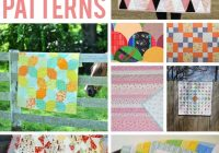 8 free ba quilt patterns that are too cute to resist Cool Patchwork Quilt Free Patterns Gallery