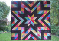 a beautiful collection of half square triangle quilt patterns Cool Half Square Triangle Quilt