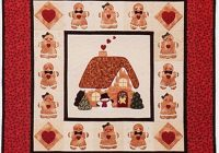 a gingerbread christmas wallhanging quilt pattern Cool Gingerbread Quilt Pattern Gallery