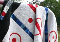 a quarter inch from the edge friday finish good old Modern Good Old Hockey Game Quilt Pattern Inspirations