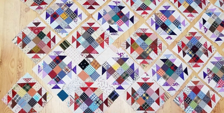 Permalink to 9 New Bonnie Hunter Quilt Patterns