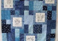 a snowman quilt top snowman quilt embroidered quilts quilts 9 New Perfect Ten Quilt Pattern Free Inspirations