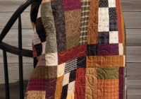 a striking country quilt cozy and warm quilting cub Stylish Country Patchwork Quilt Patterns