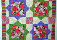 about deb kratovil Cool Quilt Patterns For Large Print Fabrics Inspiration