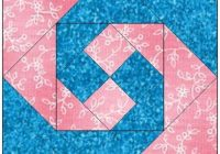 all stitches monkey wrench paper piecing quilt block pattern Stylish Monkey Wrench Quilt Block Pattern
