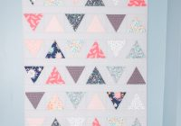 all the ba quilts triangle pop quilt pattern quilty love Elegant Triangle Baby Quilt Pattern Inspirations