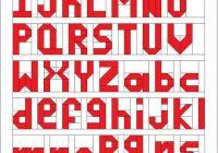 alphabet quilt pattern traditional pieced patchwork Elegant Alphabet Quilt Block Pattern