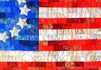 american flag free quilt patterndevotequilternancy Cozy American Flag Quilt Pattern