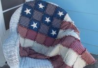 american flag rag quilt made to order wall quilt lap quilt rustic americana country farmhouse decor free shipping Cool American Flag Rag Quilt Pattern Gallery