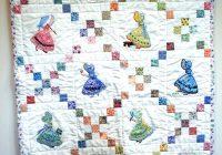 antique ba quilts quilt patterns for sale applique sunbonnet Modern Vintage Sunbonnet Sue Quilt