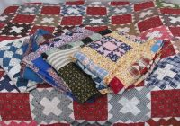 antique patchwork quilt tops lot cotton prints vintage Unique Vintage Quilt Tops Inspirations