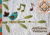 applique patterns songbird tree sun craft passion free Cozy Applique Patterns For Quilts