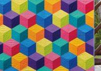 arcade game jaybird quilts modern patchwork quilt Modern Patchwork Quilt Patterns Inspirations