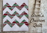 arons chevron quilt pattern fat quarter quilt Interesting Chevron Quilt Pattern Using Triangles Gallery