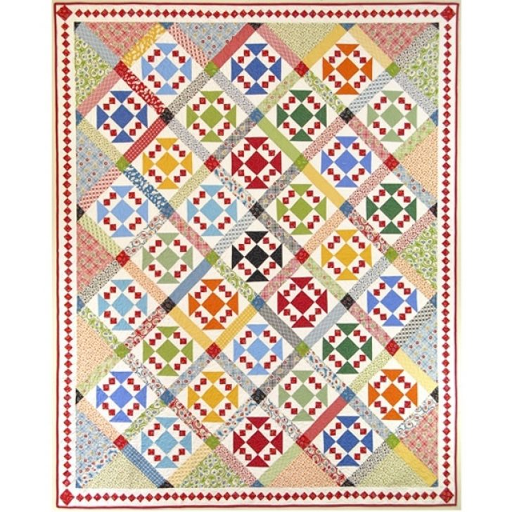 Permalink to Around The Block Quilt Pattern Gallery