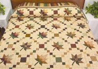 autumn leaf quilt for anytime of year quilting cub Elegant Autumn Leaf Quilt Pattern Inspirations