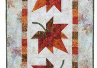 autumn leaves eleanor burns signature quilt pattern Elegant Autumn Leaf Quilt Pattern Inspirations