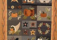 autumn quilt block of the month the quilted crow quilt Interesting Wool Applique Quilt Patterns