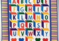 ba blocks quilt pattern howstuffworks Elegant Alphabet Quilt Block Pattern