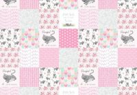 ba girl quilt fabric the yard cotton patchwork cheater Quilting Fabric By The Yard