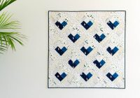 ba heart log cabin quilt free quilt pattern Unique Log Cabin Patchwork Quilt Patterns Gallery