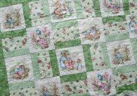 ba quilt peter rabbit jemima puddleduck mrs rabbit Cozy Peter Rabbit Quilt Pattern Inspirations