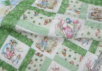 ba quilts ba quilt peter rabbit jemima puddleduck mrs Cozy Peter Rabbit Quilt Pattern Inspirations