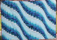 bargello quilt pattern ocean waves lap full queen and king sizes digital download pdf Stylish Ocean Wave Quilt Pattern Gallery